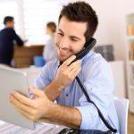 Relações entre a prospecção de clientes e um software financeiro